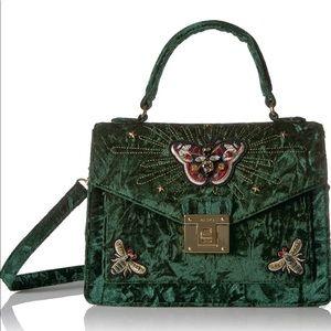 ❣️ Green velvet Aldo bag